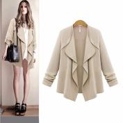 Long Shawl Coat,Hemlock Womens Long Sleeve Loose Cardigan Coat Autumn Outwear Tops