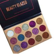 Beauty Glazed Eyeshadow Palette 15 Colours Waterproof Eye Shadow Powder Make Up Eye Shadow Palette Cosmetics