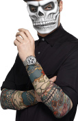Smiffys Smiffy's 44225 Day Of The Dead Tattoo Sleeve
