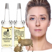 Plant Gift -Sheep Placenta Original Fluid ,Beauty beauty, enhance skin elasticity, prevent wrinkles, anti-ageing-10ml2 0.35oz