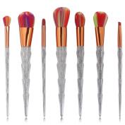 Makeup Brushes Professional Soft Cosmetics Make Up Brush Set Kabuki Foundation Lipstick Beauty Tools Brushes Mingcf 7Pcs