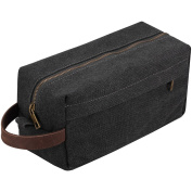 Versatile Canvas Toiletry Bag for Travelling Shaving Dopp Kits Bags Duffle Grooming Pouch for Camping Outdoor Sport Gym Toiletries Packing Organiser