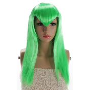 sunshine Susie Long Straight Anime Fashion Women's Cosplay Wig With Free Wig Cap