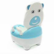 Ancaixin Blue Bear Comfort Potty Training Seat for Kids Toddlers Infant