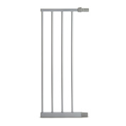 Munchkin Easy Close Metal Baby Gate Extension, Silver, 28cm