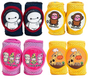 Baby Knee Pads Anti-Slip Walking & Crawling Kneepads Adjustable Hook and loop Strap Unisex For Boys Girls Infant Toddler Knee & Elbow Pads Memory Foam Pad Cushion Breathable Mesh Fabric Knee Pads For Babies