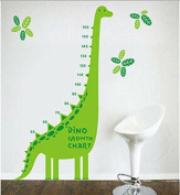 Waterproof Green Dinosaur Stckers for Kids Room Decoration wall stickers