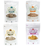 Skinny Crisps Low Carb Gluten Free Crackers Variety Pack