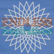 Endless Inspirations Original Stencil, 15cm x 15cm , Spirograph 4