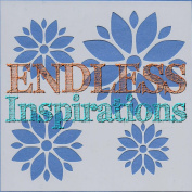 Endless Inspirations Original Stencil, 15cm x 15cm , Poinsettia 2