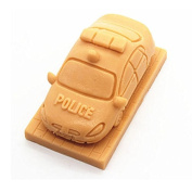 3D Police car Craft Art Silicone Soap mould Craft Moulds DIY Handmade Candle mould Chocolate Mould moulds