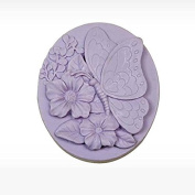 3D Love of Butterfly Craft Art Silicone Soap mould Craft Moulds DIY Handmade Candle mould Chocolate Mould moulds