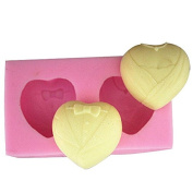 3D Love Heart Craft Art Silicone Soap mould Craft Moulds DIY Handmade Candle mould Chocolate Mould moulds