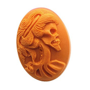 3D SKULL Craft Art Silicone Soap mould Craft Moulds DIY Handmade Candle mould Chocolate Mould moulds