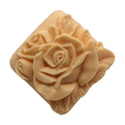 3D Rose C472 Craft Art Silicone Soap mould Craft Moulds DIY Handmade Candle mould Chocolate Mould moulds