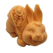 3D Rabbit C477 Craft Art Silicone Soap mould Craft Moulds DIY Handmade Candle mould Chocolate Mould moulds