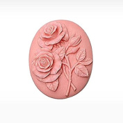 3D Rose H2 Craft Art Silicone Soap mould Craft Moulds DIY Handmade Candle mould Chocolate Mould moulds