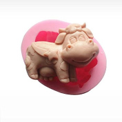 3D Taurus Cow Craft Art Silicone Soap mould Craft Moulds DIY Handmade Candle mould Chocolate Mould moulds
