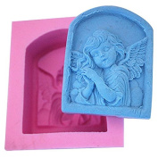 3D Angel FM362 Craft Art Silicone Soap mould Craft Moulds DIY Handmade Candle mould Chocolate Mould moulds