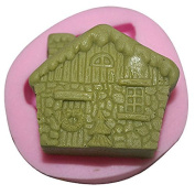 3D Small house Craft Art Silicone Soap mould Craft Moulds DIY Handmade Candle mould Chocolate Mould moulds