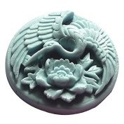 3D Swan peony Craft Art Silicone Soap mould Craft Moulds DIY Handmade Candle mould Chocolate Mould moulds