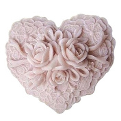3D Rose Lace S071 Craft Art Silicone Soap mould Craft Moulds DIY Handmade Candle mould Chocolate Mould moulds