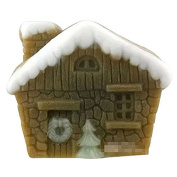 3D House C220 Craft Art Silicone Soap mould Craft Moulds DIY Handmade Candle mould Chocolate Mould moulds