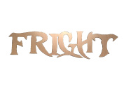 Paint Me Designs, Unfinished Words for Halloween, Fright