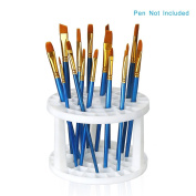 49 slots Pencil Holder - Desk stationery Standing Organiser Holder, Perfect for Pen/Pencil, Paint Brush, Gel Pen, and More by WeiBonD