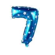 Number Balloons 80cm Helium Foil Balloons for Birthday Party Decoration