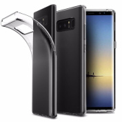 Nesee Transparent Soft Gel TPU Silicone Case Cover for Samsung Galaxy Note 8