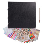 FaCraft Scrapbooking 12x12 with Accessiories for Gift