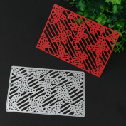 Cywulin Metal Cutting Dies Stencil Mould Scrapbooking Embossing Album for DIY Embossing Scrapbook Album Paper Amusing Card Decor Craft