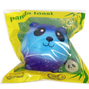Crazy Squeeze Toys, UBuyit Jumbo Starry Sky Panda Squishy Cream Scented Slow Rising Stress Reliever Toy Charm Gift