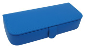 Rectangular Shaped Jewellery Box with 7 Compartments, Blue