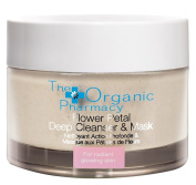 The Organic Pharmacy - Flower Petal Deep Cleanser & Exfoliating Mask