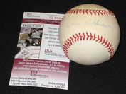 Dave Williams Giants Signed Autographed Authentic Rawlings Onl Baseball Jsa Rare - NFL Autographed Miscellaneous Items