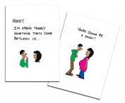 Dad's Castle Pregnancy Announcement - You're Going to be a Daddy Card, Ethnic People of Colour