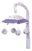 GEENNY Musical Mobile, New Lavender Butterfly