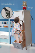 Anti-Tip TV/Furniture Baby Safety Strap Set Includes FREE Finger Pinch Door Guard-For flat screens custom anchor Wall Mount Baby Proofing Earthquake Hook and loop dresser-Protect Your baby-Life time warranty