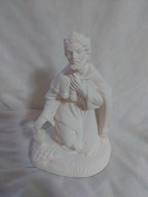 Atlantic Nativity Kneeling Wiseman ready to paint ceramic bisque