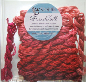 Kreinik Limited Edition French Silk Embroidery Floss Assortment - Reds