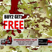 Lm Gi Joe Military Camo Hydrographic Water Transfer Film Hydro Dipping Dip