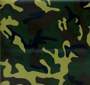 Hydrographic Film - Water Transfer Printing - Hydro Dipping - ARMY CAMO 2 - 1 Sq. Metre
