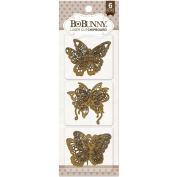 BoBunny Laser-Cut Chipboard -Butterfly