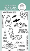 Bats Clear Stamp Set 10cm x 15cm