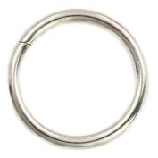 "20 Pcs 25mm 1"" Metal O-rings Rings Non Welded"