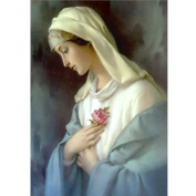 Allywit 5D Embroidery Paintings Rhinestone Pasted DIY Diamond Painting Cross Stitch