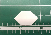 1.3cm Elongated Hexagon English Paper Piecing EPP Set of 100