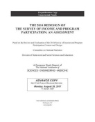 The 2014 Redesign of the Survey of Income and Program Participation